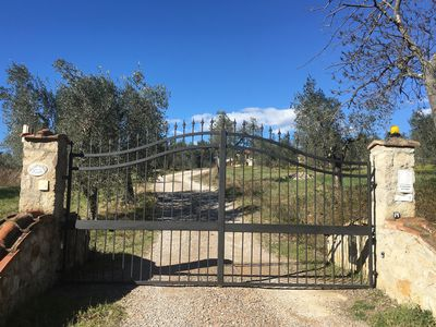 Photo for Villa in the countryside in the Tuscan hills