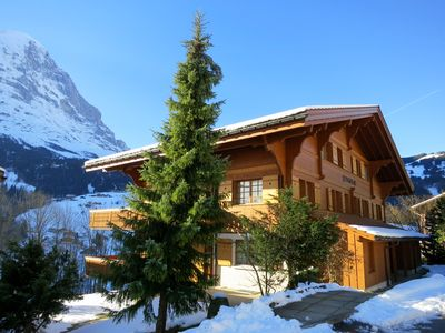 Photo for Modern Apartment, Uninterrupted Eiger Views, close to Cable Car