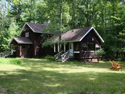 Photo for Unique Lodge Cabin/Private 1.5 ac/5 Lake Chain/St Germain/Eagle Rv