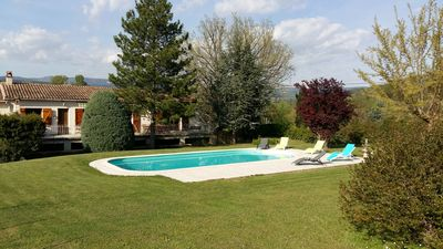 Photo for LARGE HOUSE WITH SWIMMING POOL IN THE VAROUS COUNTRY BETWEEN SEA AND VERDON