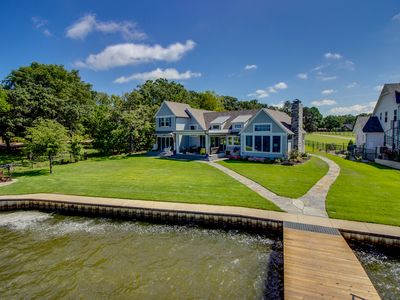 Photo for Cedar Creek Cape Cod Waterfront Home
