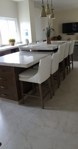 Kitchen and Dining Island