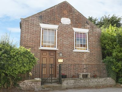 Photo for THE OLD CHAPEL, romantic, with a garden in Filey, Ref 955332