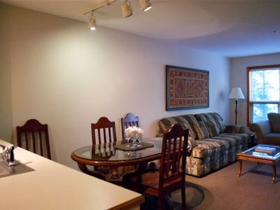 Photo for Prime Ski-in Ski-out Location! Pool, Hot tubs, BBQ, sleeps 4 (221)