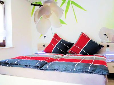 Photo for Deluxe Double Room No. 1 / 25m² / WC / shower / balcony - Silberburg