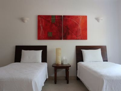 Photo for Comfortable department with swimming pool located in the golf course of Ixtapa