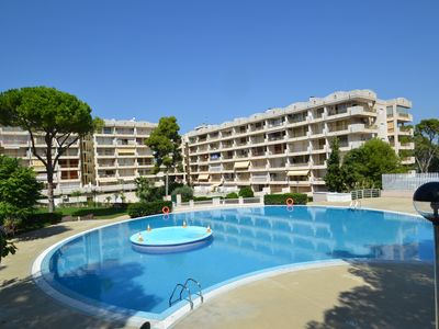 Photo for Catalunya 23:Wifi & linen included,community sw.pools & garden,400m from the beach-Optional AC-Salou