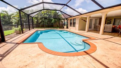 Photo for 18% OFF! -SWFL Rentals - Villa Siva - Gulf Access Pool Home Sleeps 6
