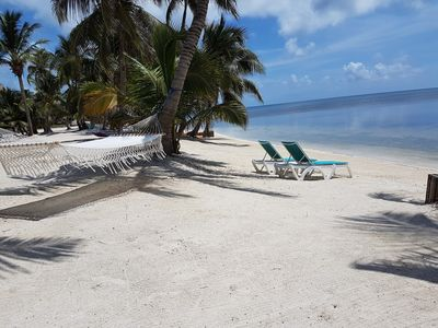 Photo for TROPICAL CASITA ON THE BEACHES OF THE CARIBBEAN SEA PADI/SSI CERTIFIED RESORT