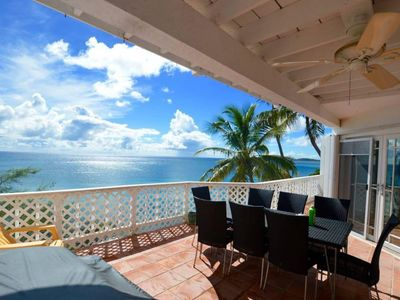 Photo for Panoramic Oceanfront Villa Loft- Salty Sway I