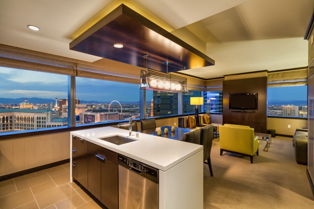 Big 40 BR Vdara Corner Penthouse Stunner Bellagio Fountain View Sleeps 40 440 Fl Las Vegas Strip Amazing 3 Bedroom Penthouses In Las Vegas Style