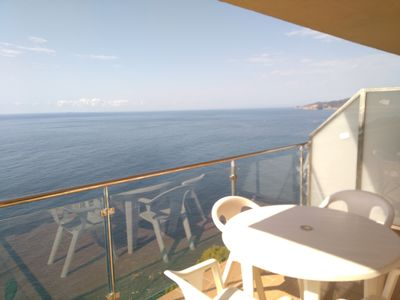 Photo for Apartment in Sant Feliu de Guíxols with spectacular views to the sea