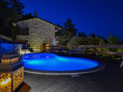 Photo for VillaSubasioRelax, panoramic villa with swimming pool, natural park, Spello, Assisi