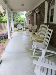 Chairs on front porch