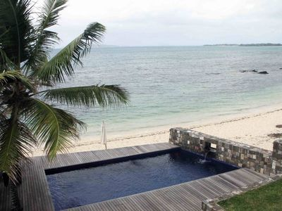 Photo for BEAUTIFUL VILLA, NEW, VERY HIGH STANDING ON THE BEACH