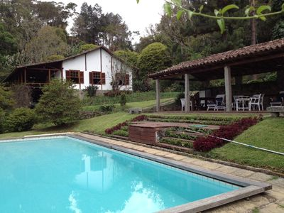 Photo for House in Teresópolis, 5 bedrooms, very green and peace