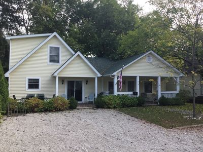 Photo for Beautiful cottage for large families located inside the gates of Lakeside