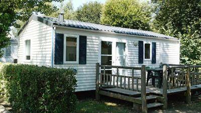 Photo for Camping Le Brandais *** - Mobil Home 4 Rooms 6 People covered terrace