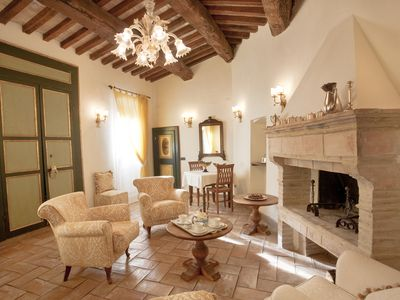 Photo for Le Logge di Silvignano - Ulysse's House - Lovely Villa with Pool & View - WiFi