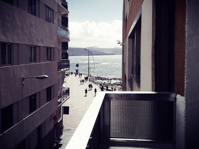 Photo for Bright apartment next to the beach of Las Canteras