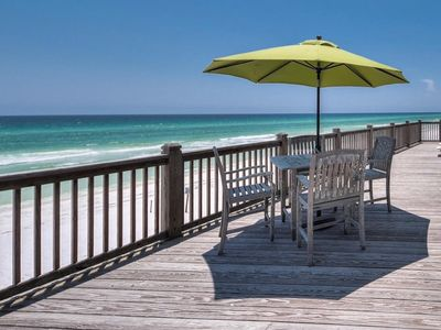 Photo for NEW 4BR BEACH FRONT ON 30A BOOK NOW! 4 BR Sleeps 12!!