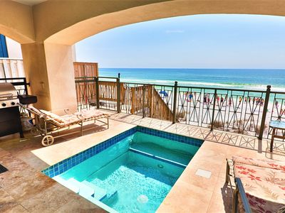 Peace of Paradise is a Beach Front Home Featuring Private Pool and Elevator