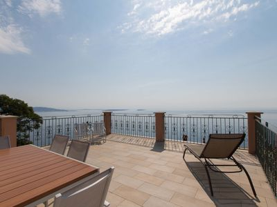 Photo for PROVENCAL VILLA WITH PANORAMIC SEA VIEW