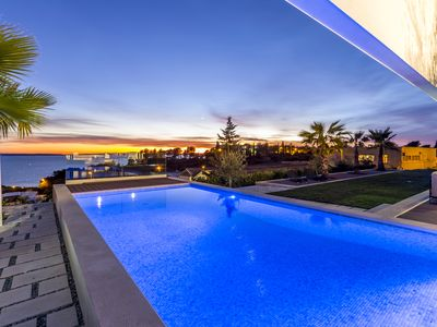 Photo for NEW LUXURY VILLA MIANI WITH  HEATED SWIMMING POOL ,SEA VIEW AND HOUSEKEEPING