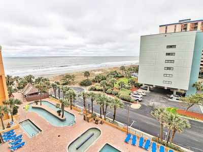 Photo for Spacious & Roomy King Suite w/ Ocean Views + Pools at Room 605!