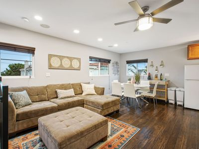 Photo for Private Sunset Views, Walk to All! Includes A/C, Gated Parking, & Roof Deck!