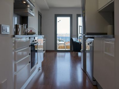 Photo for VISTAMAR, penthouse, new and 5 minutes from the beach with air conditioning.
