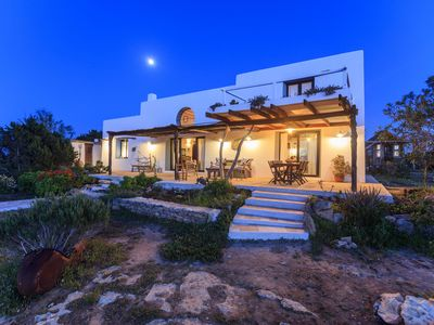 Photo for GREAT VILLA WITH SEA VIEWS AND IS VEDRÁ FROM THE PRIVATE POOL