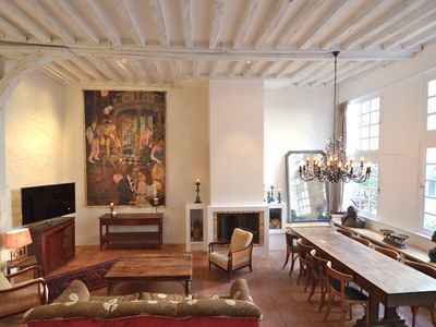 Photo for Table - Beautiful apartment on the ground floor overlooking courtyard