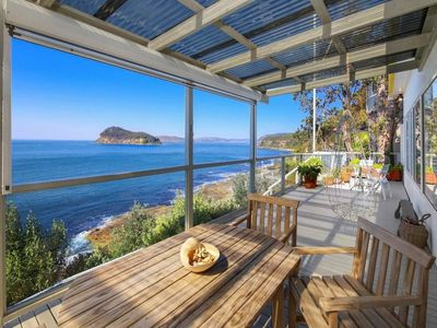 Photo for CLIFF COTTAGE - PEARL BEACH WATERFRONT