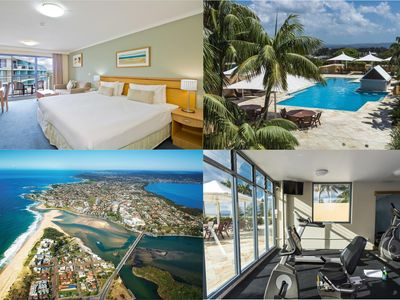 Photo for Waterfront Apartment with Rooftop Pool, Gym & Spa!
