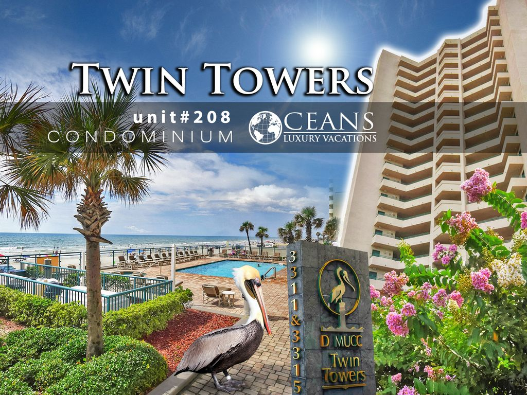 May Specials Twin Towers Condo Oceanfront 3br 3ba