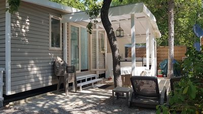 Photo for Mobilhome 'Grande' | Mobile home | With outside terrace and kitchen Côtes D'azur