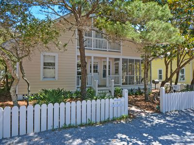 "Photo for In Seaside Proper ""Carey Cottage"" 3BR - Sleeps 8 - 5th up from beach!"