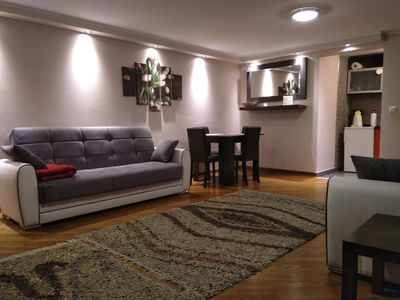 Photo for Apartment Dedinje - Free WiFi Free Street Parking - 60 sqm 646 sqft - Entire APT