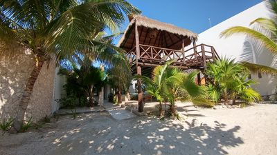 Photo for Casa Huul Kiin, with beautiful Mayan pool and palapa!