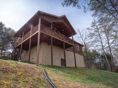 Photo for ENJOY THE PEACE AND QUIET OF THE TENNESSEE COUNTRY SIDE AT VOLT'S HIDEOUT!