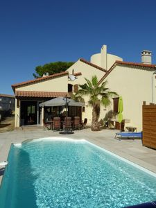 Photo for Holiday house Agde for 1 - 8 persons with 4 bedrooms - Holiday house