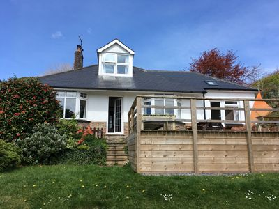 Photo for Large, modern chalet bungalow situated in the lovely hamlet of Knowle