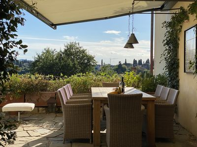 Photo for Renovated gorgeous villa in Florence. Walking distance to all sites.