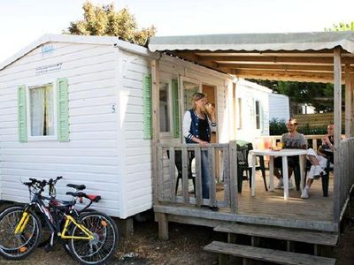 Photo for Camping Les Peupliers **** - Mobil Home Access 3 Rooms 4 People