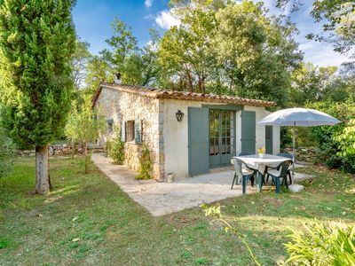 Photo for Cottage with two bedrooms & two bathrooms within walking distance of Valbonne village