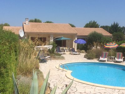 Photo for Villa With Private Pool And Secluded, South Facing, Mediterranean Garden