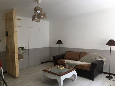Photo for Nice Studio Spacious and Cozy, Private Parking near Remparts, Rocade, Central Station
