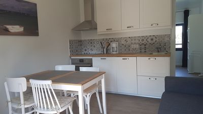 Photo for Fouesnant, Beg-Meil, beautiful apartment sleeps 4, beaches and market town