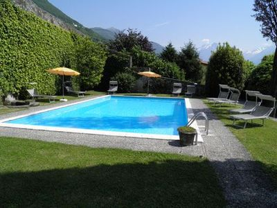 Photo for 1BR Apartment Vacation Rental in Domaso
